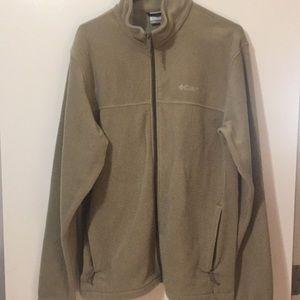 Columbia full zip Polartec jacket